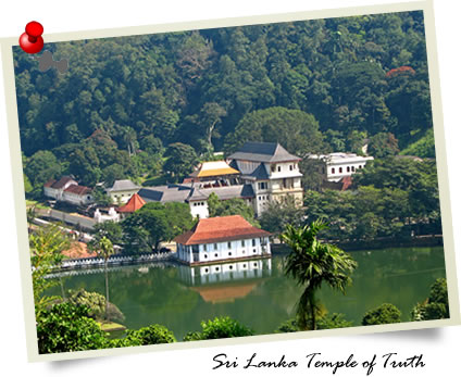 Sri Lanka Temple of Truth from Wikipedia
